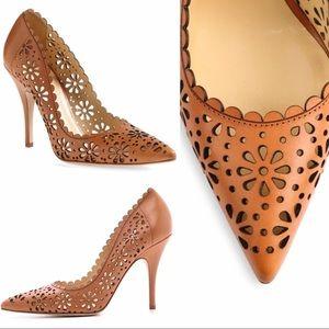 Kate Spade Italian Leather heels , shoes
